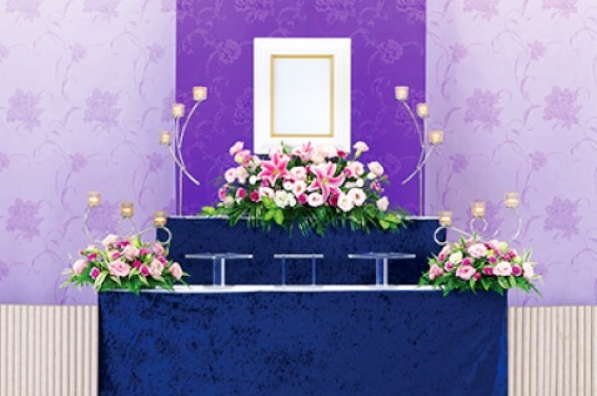 花祭壇 一日葬プラン
